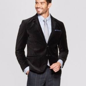 Goodfellow Men's Black Velvet Blazer